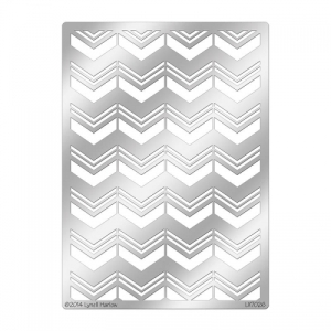 DWLX7026 Chevron Background Stencil