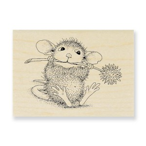 HMH04 Chive Chewing Rubber Stamp