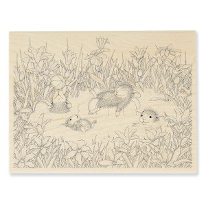 HMR61 Puddle Play Rubber Stamp