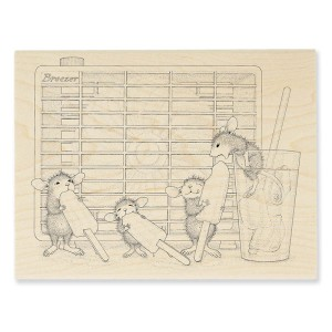 HMR67 Frozen Treat Rubber Stamp