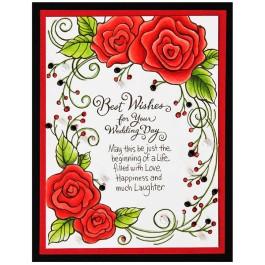Rose Wedding by Jennie Lin Black