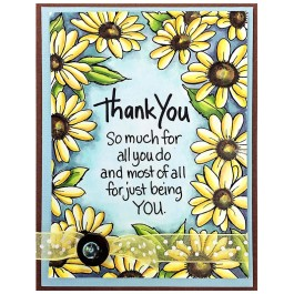Thank You Daisies by Rhea Weigand