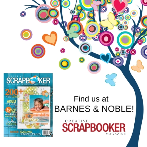 Creative Scrapbooker at Barnes and Noble