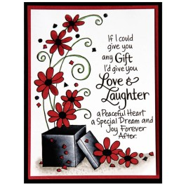 Laughter Gift - Dark - by Jennie Lin Black