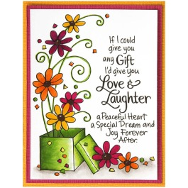 Laughter Gift - Bright - by Jennie Lin Black