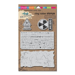 ASCRS06 AS Cling Toxic Rubber Stamp Set