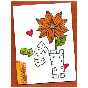 Bible Journal Card by Tenia Nelson