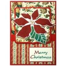 Classic Poinsettia by Louise Healy