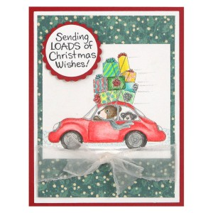 House-Mouse® Holiday Travel by Kristine Reynolds