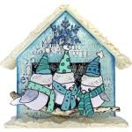 Birdie Trio BirdHouse by Katy Leitch