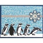 International Snow Penguins by Laura Drahozal