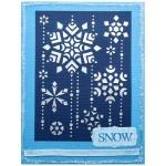 Snowflake Cascade by Alison Heikkila
