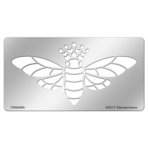 FMS4064 Honey Queen Metal Stencil