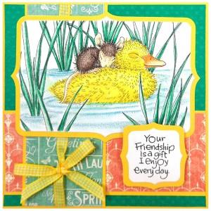 Ducky Nap by Kristine Reynolds