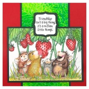Strawberry Treat by Kristine Reynolds