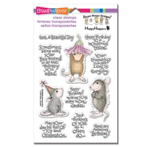 Friend Wishes Perfectly Clear Stamp Set