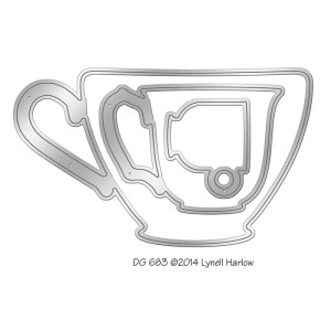 Nested Teacups Die Set