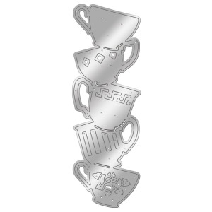 Stacking Teacups Die Set