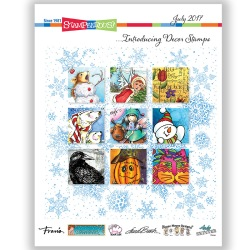 July 2017 Stampendous Catalog