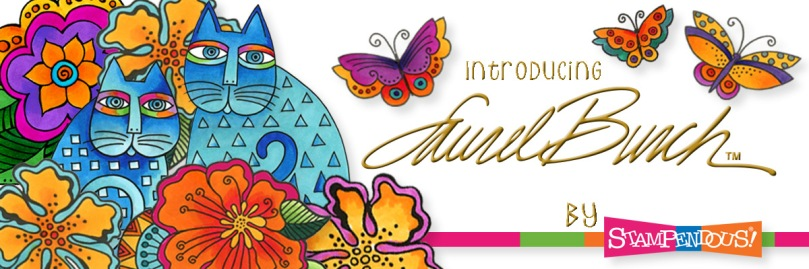 Laurel Burch By Stampendous Banner