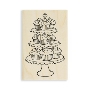 Cupcake Tiers Stamp