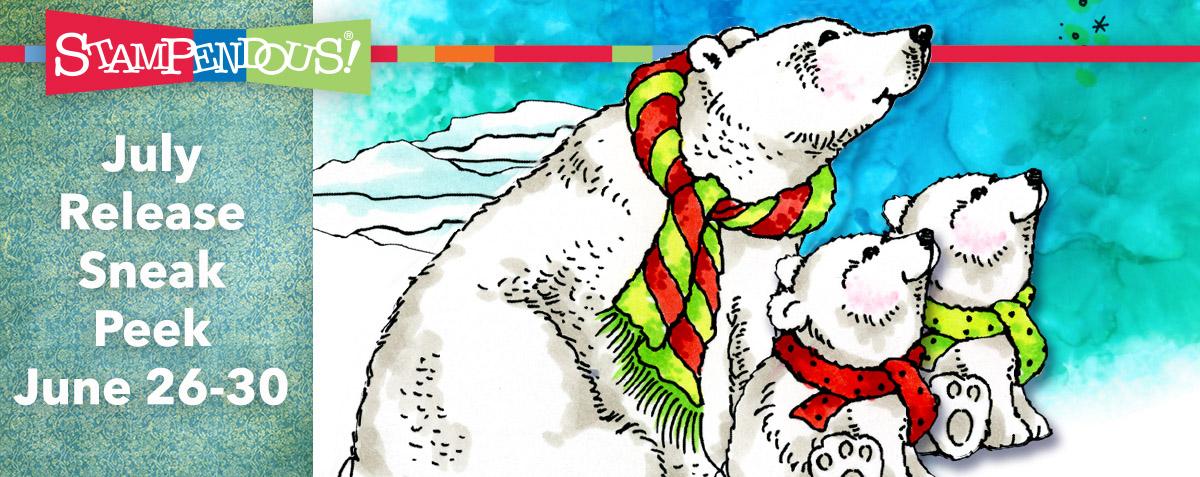 Polar bear sneak July 2017