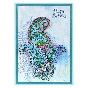 Paisley Patterns Birthday