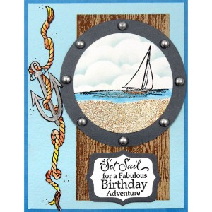 Nautical Anchor by Kristine Reynolds