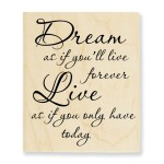 Dream Forever Stamp