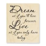 Dream Forever Stamp