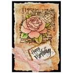 Rose Postcard Birthday