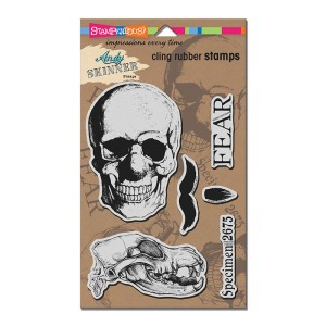 Andy Skinner's Cling Rubber Stamps Skuldoggery