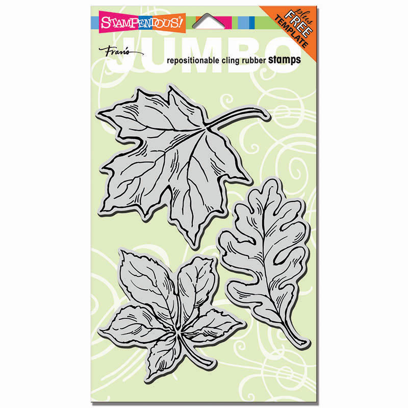 CRS5052 Cling Jumbo Leaves