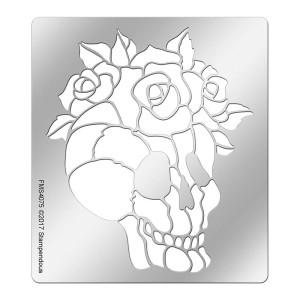 FMS4075 Rose Skull