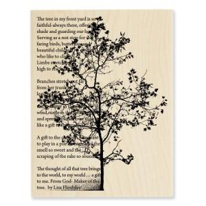 R164 Tree Poem