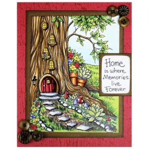 Gnome Home by Amy Hurley-Purdie