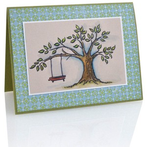 Tree Swing by Lisa Hindsley