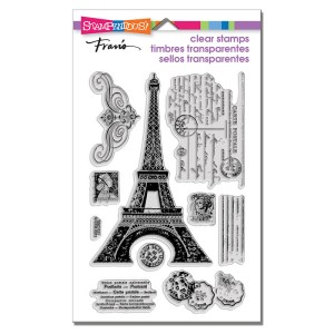 SSC1121 Eiffel Tower Perfectly Clear Stamps