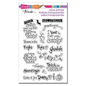 SSC1208 Tricky Words Perfectly Clear Stamp