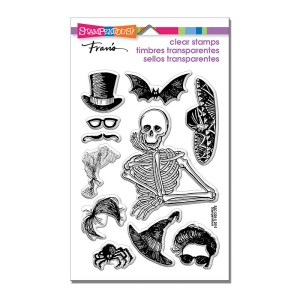 SSC1228 Skeleton Style Perfectly Clear Stamps