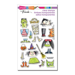 SSC1245 Costume Stack Perfectly Clear Stamps