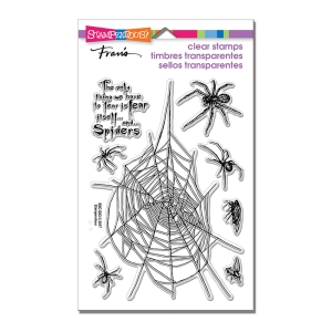 SSC1263 Spider Fear Perfectly Clear Stamps