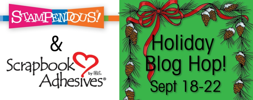 Scrapbook Adhesives Holiday Blog Hop