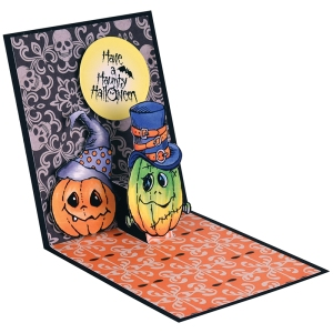 Halloween Hats Pop Up by Fran Seiford