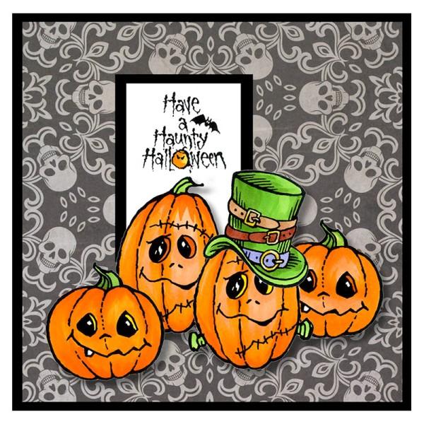Halloween Hats Grey