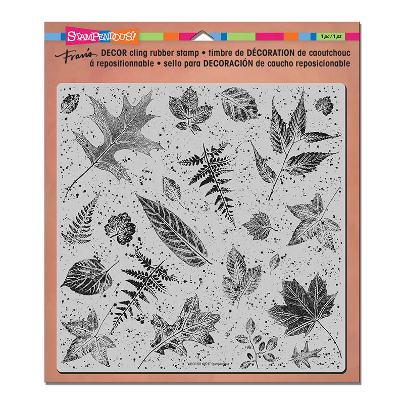 DCR101 Decor Cling Leaves