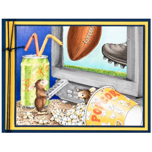 Game Day by Debi Hammons (Image colored by Janelle Stollfus)