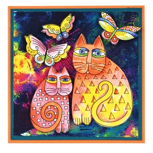 Indigo Cats by Fran Seiford