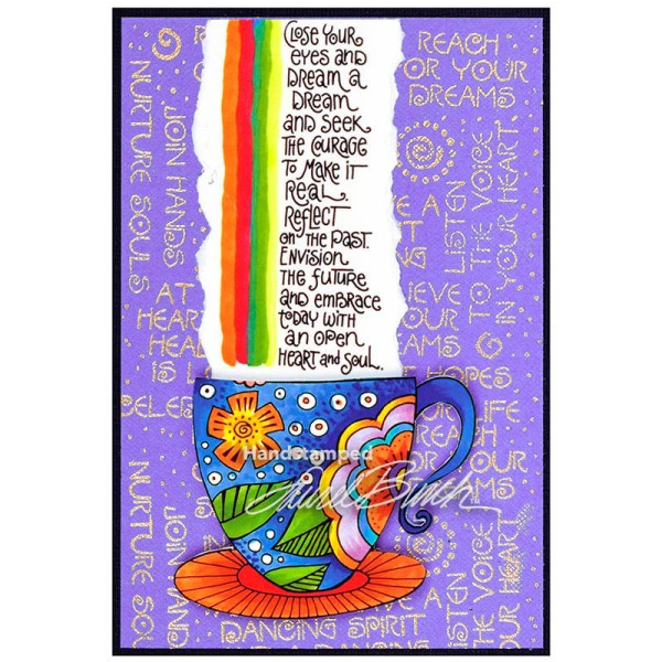 Laurel Burch Tea Cup and Dream Wish