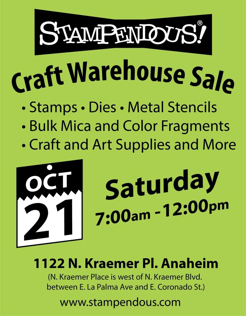 2017Warehouse Sale